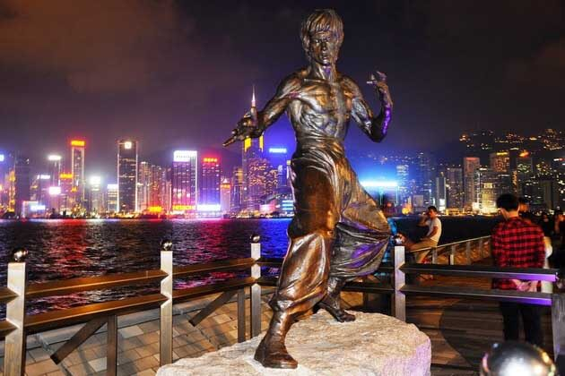 Avenue of Stars in Hong Kong Shore Excursions