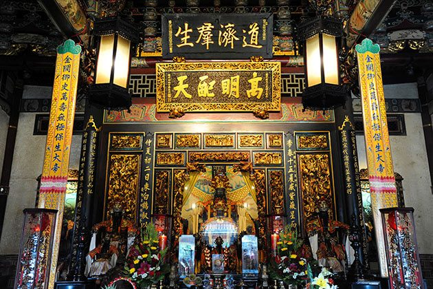 Baoan Temple Taipei Shore Excursions
