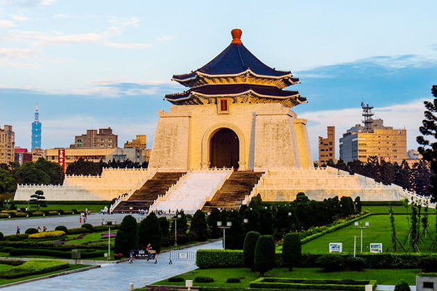 Chiang Kai-shek Memorial Hall Taipei Shore Excursions