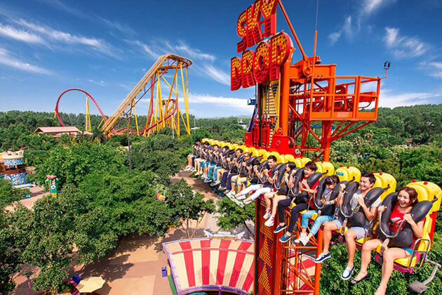 Chimelong Paradise in Guangzhou Attractions