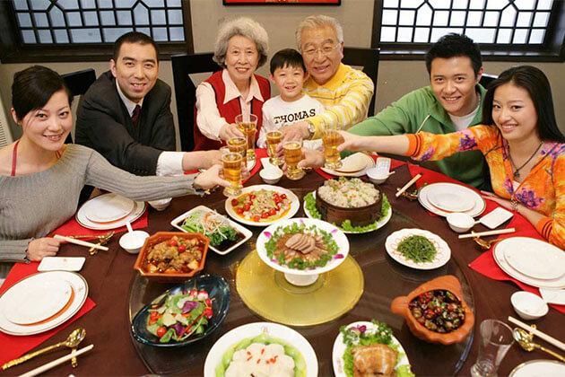 China New Year've Dinner