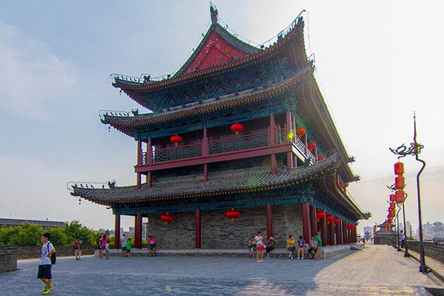 City Wall Xian Shore Excursions