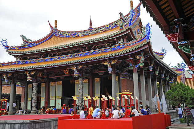 Confucius Temple in Taipei Trip