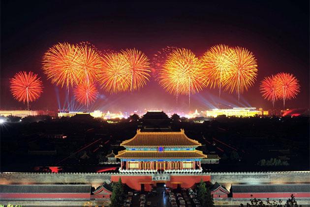 Firework China New Year