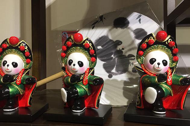 Giant Panda Souvenirs in China
