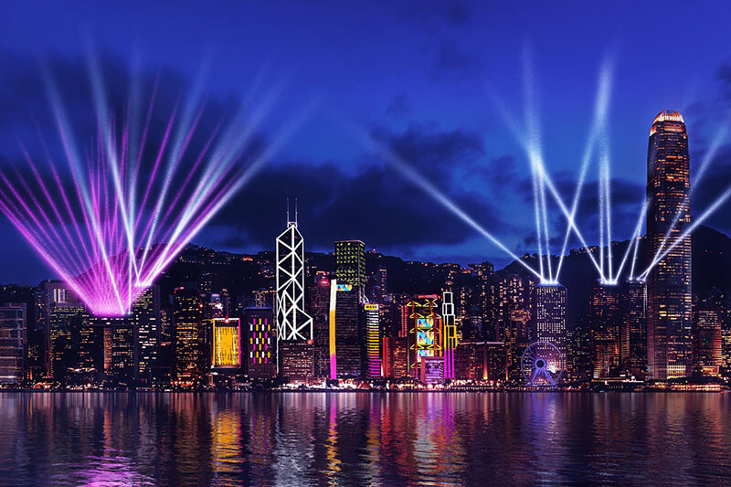 Hong Kong Symphony of Lights - China Shore Excursions