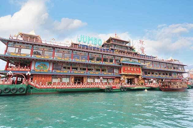 Jumbo restaurant Hong Kong Shore Excursions