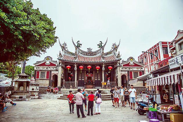 Mazu Temple of Tainan Hualien shore excursion