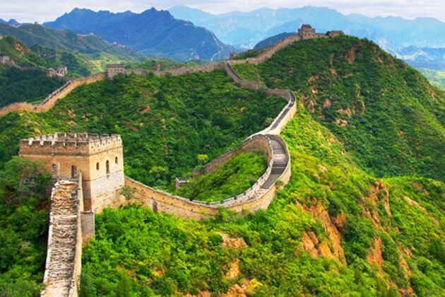 Mutianyu Great Wall China Shore Excursions