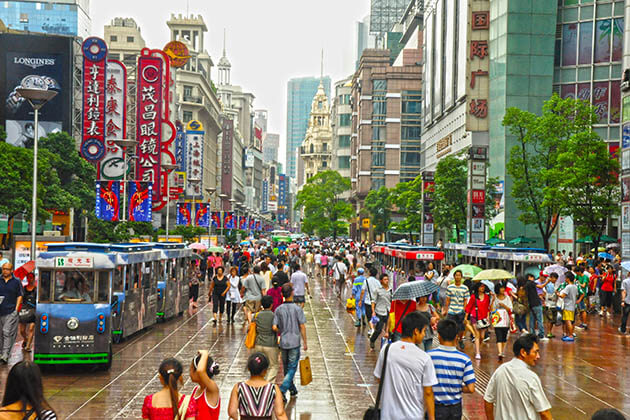 Nanjing Road Place to Visit in Shanghai