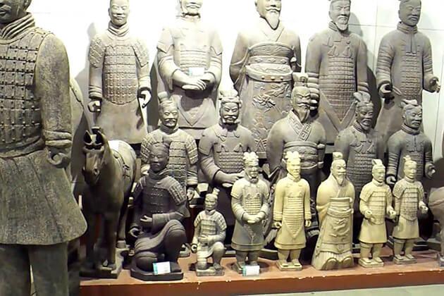 Replicas Souvenirs of Qin Terracotta Warriors and Horses