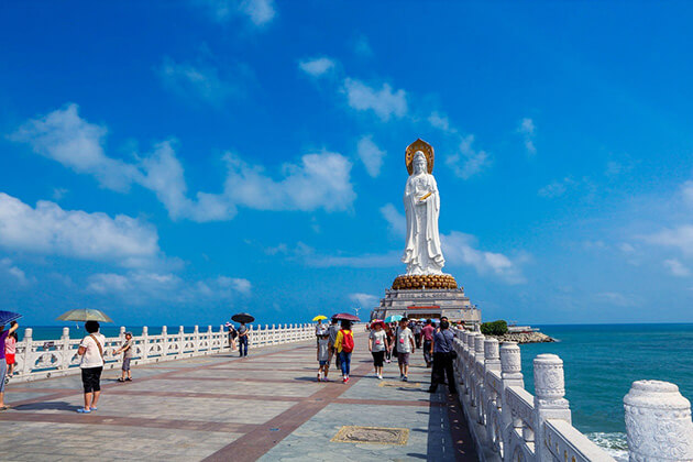 Sanya tour from cruise port