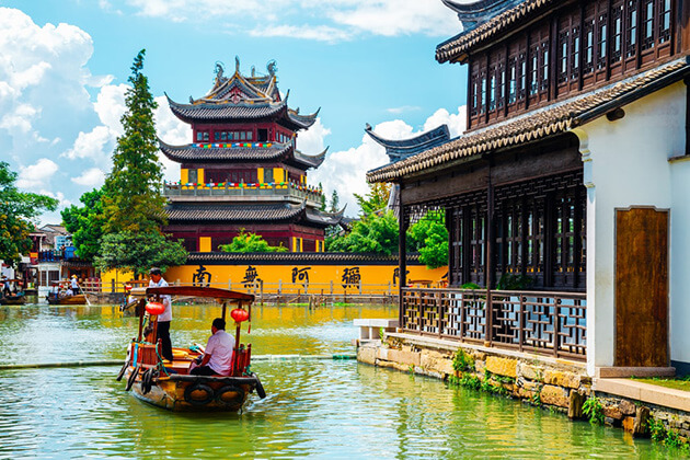 Shanghai Tour from Cruise Port