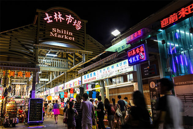 Shilin Night Market Taipei Shore Excursions