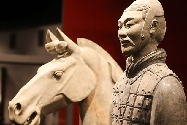 Terracotta Warrior and Horses