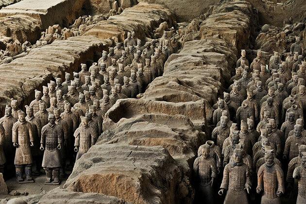 Terracotta Warriors in Xian Shanghai Shore Excursions