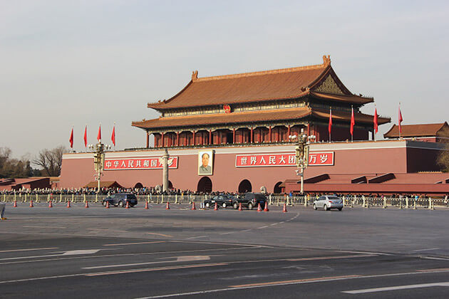 Tian'anmen Square in Beijing Tour From Cruise Port