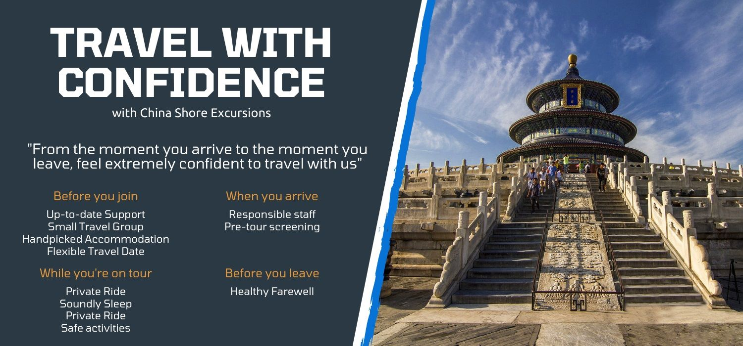 Travel china shore excursions with great confidence