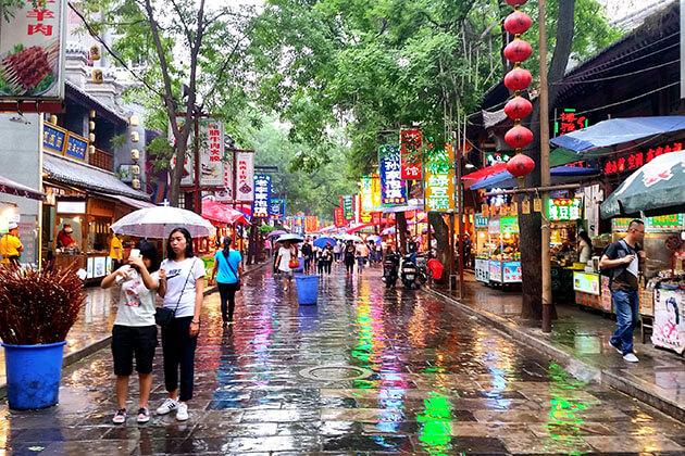 Xi'an Muslim Quarter China Attractions