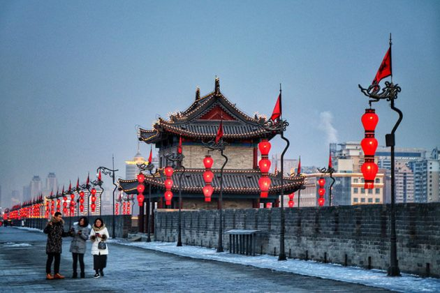 Xian City Wall Shanghai Shore Excursions