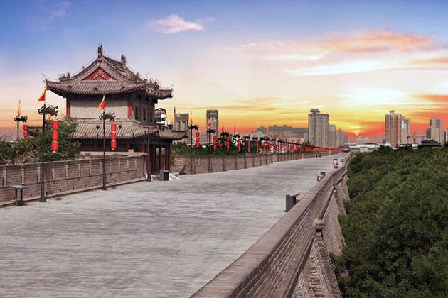 Xian City Wall from Shanghai Shore Excursions