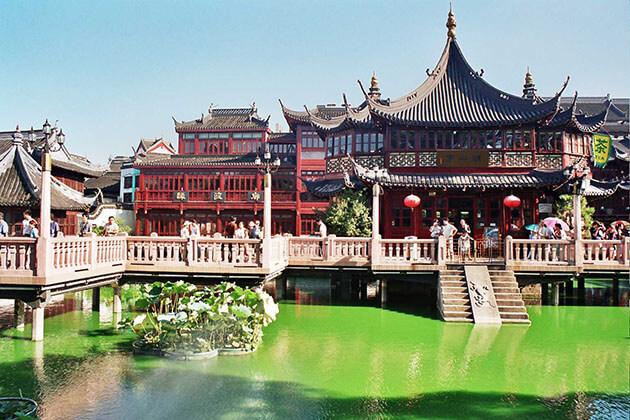 Yu Garden in Shanghai China Shore Excursions