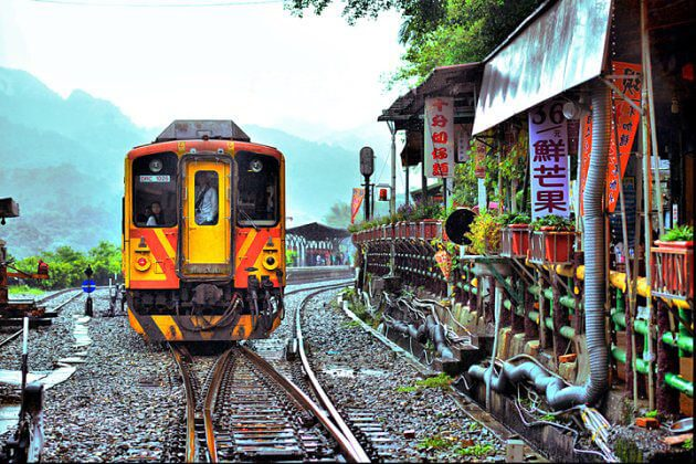Shifen Village Railway Taipei Shore Excursions