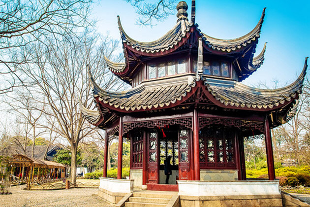 western garden in Suzhou